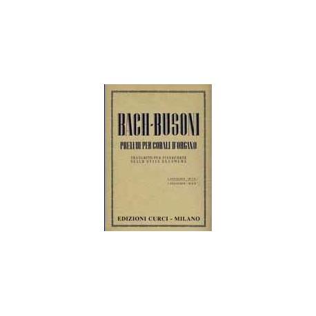 Preludio e fuga in Re magg. per Organo / Bach/Busoni