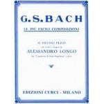 J.S. Bach / LE PIU' FACILI COMPOSIZIONI