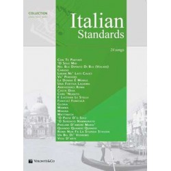 Italian standars - Collection Piano, Vocal e guitar