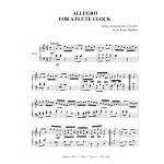 ALLEGRO FOR A FLUTE CLOCK - Arr. for piano