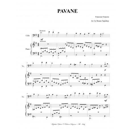 PAVANE - For Violoncello and Piano.