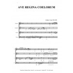 AVE REGINA COELORUM - G. Aichinger - for SATB Choir