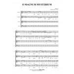 O MAGNUM MYSTERIUM - T.L. de Victoria - Mottetto for SATB Choir