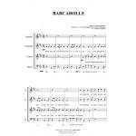 BARCAROLLE - J. Offenbach - Arr. per SATB Choir