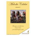 Melodie Celebri - 6 volumi - OFFERTA SPECIALE